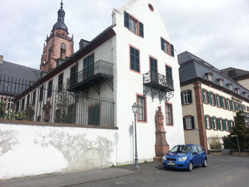 Eltzer Hof, Eltville – Restaurierung von eisernen und schmiedeeisernen Balkonen