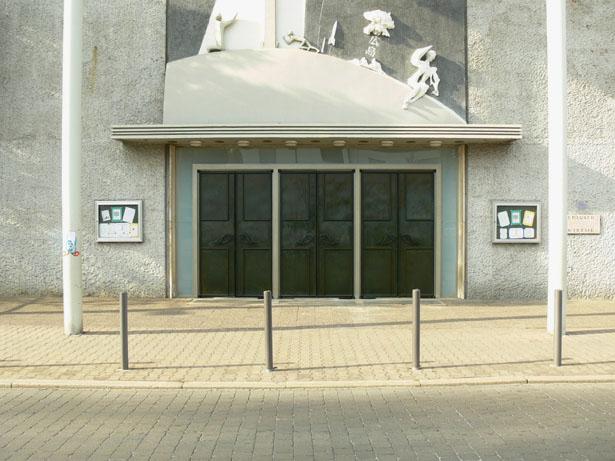 Erlöserkirche - Frankfurt am Main, Eingangstüren