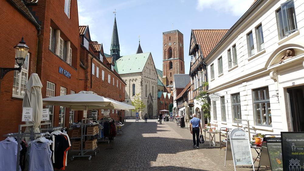 Ribe Altstadt, Dänemark