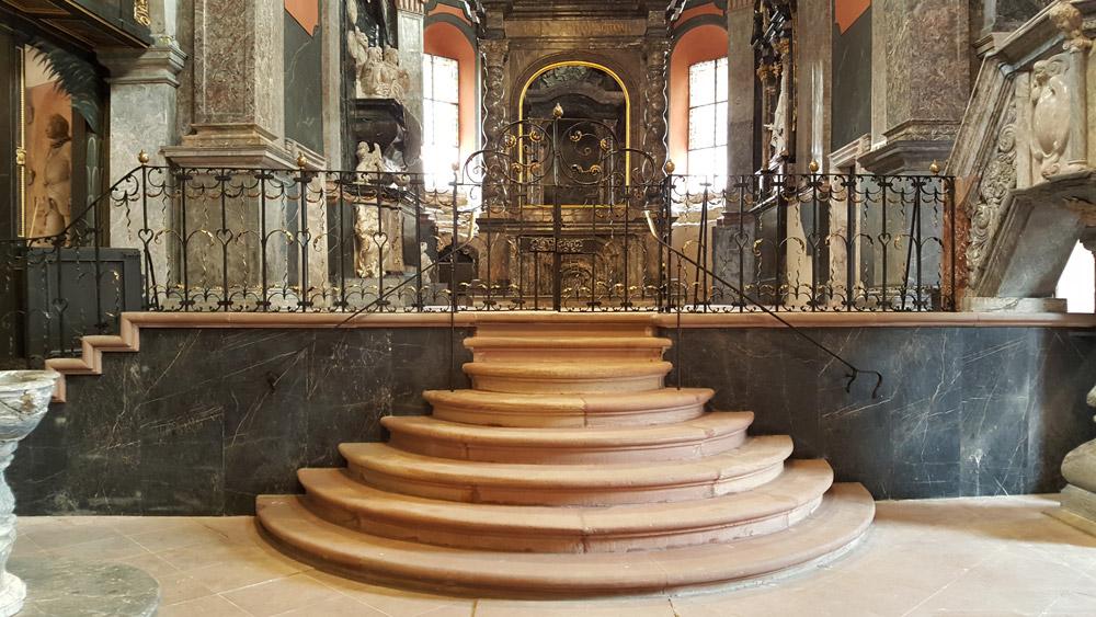 Unionskirche Idstein - Restaurierung, Rekonstruktion und Konservierung von Metallarbeiten
